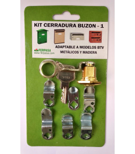 Kit Cerradura Nº 1 ORO