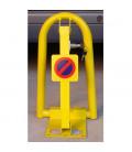 Valla de parking con cerradura termolacada EASY-PROMO
