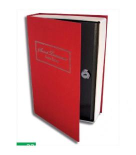 Caja de caudales camuflada libro grande