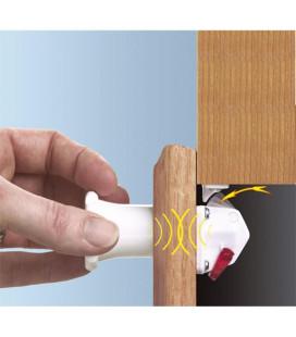 Cerradura invisible y llave