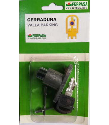 Cerradura valla de Parking