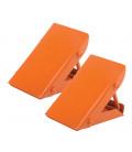 Cuñas de acero para ruedas (2 UDS)