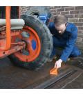 Cuñas de acero para ruedas