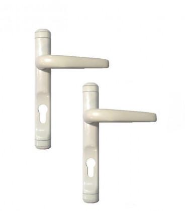 Manilla recuperable con placa y proteccion de cilindro (Jgo de 2)