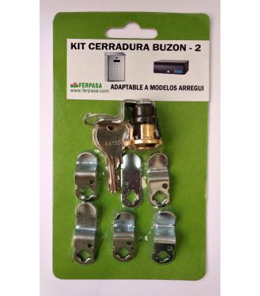 Kit Cerraduras Nº2 ORO