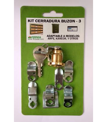 Kit Cerraduras Nº3 ORO