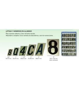 Letras y Números en Aluminio