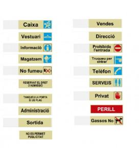 LETREROS Y SILUETAS CATALAN