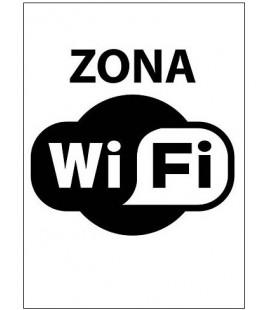 CARTEL ZONA WIFI
