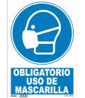 CARTEL OBLIGATORIO MASCARILLA