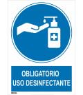 Cartel Distancia seguridad 1m