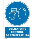 CARTEL OBLIGATORIO CONTROL TEMPERATURA