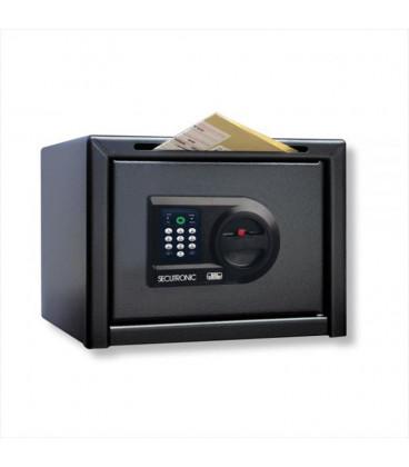 Caja Fuerte Antiatraco con acceso para sobres.